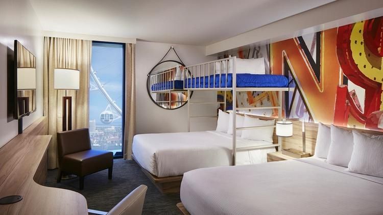Different Linq Hotel Rooms