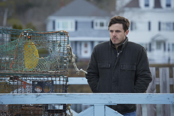 "Casey Affleck stars in ""Manchester by the Sea,"" which will hit theaters in November with a streaming release via Amazon to follow. (Claire Folger / Roadside Attractions)"