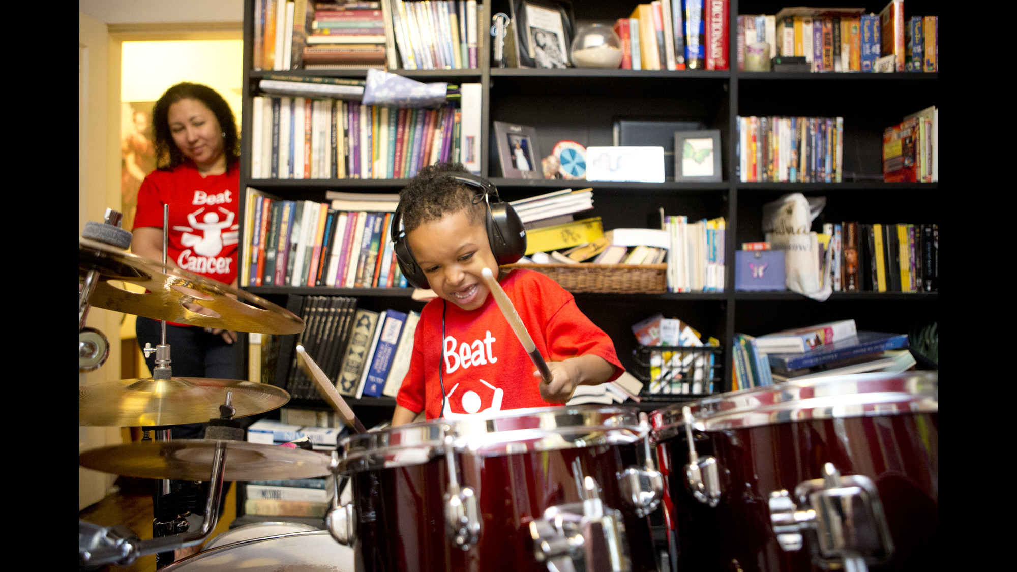 catonsville student a precocious little drummer boy is trying to