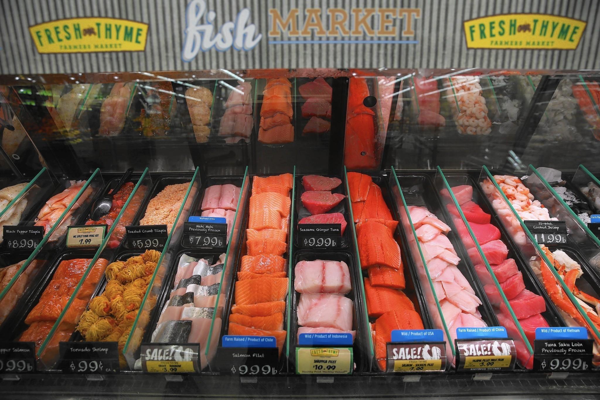 Fresh thyme farmer 39 s market plans bolingbrook distribution for Fresh fish market orlando