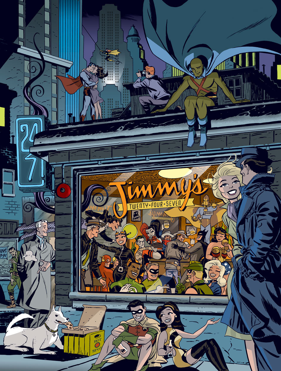 """Graphic Ink: The DC Comics Art of Darwyn Cooke."""