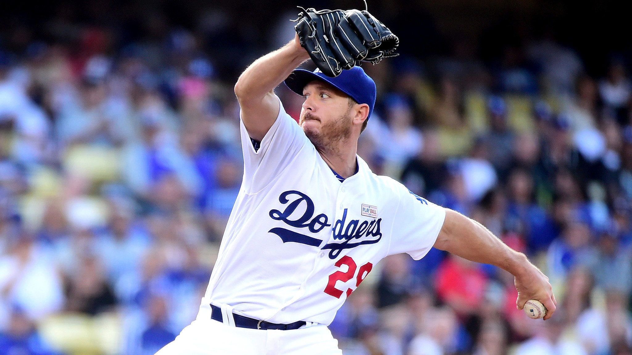 Scott Kazmir plays cards right and Dodgers get 5-3 victory - LA Times