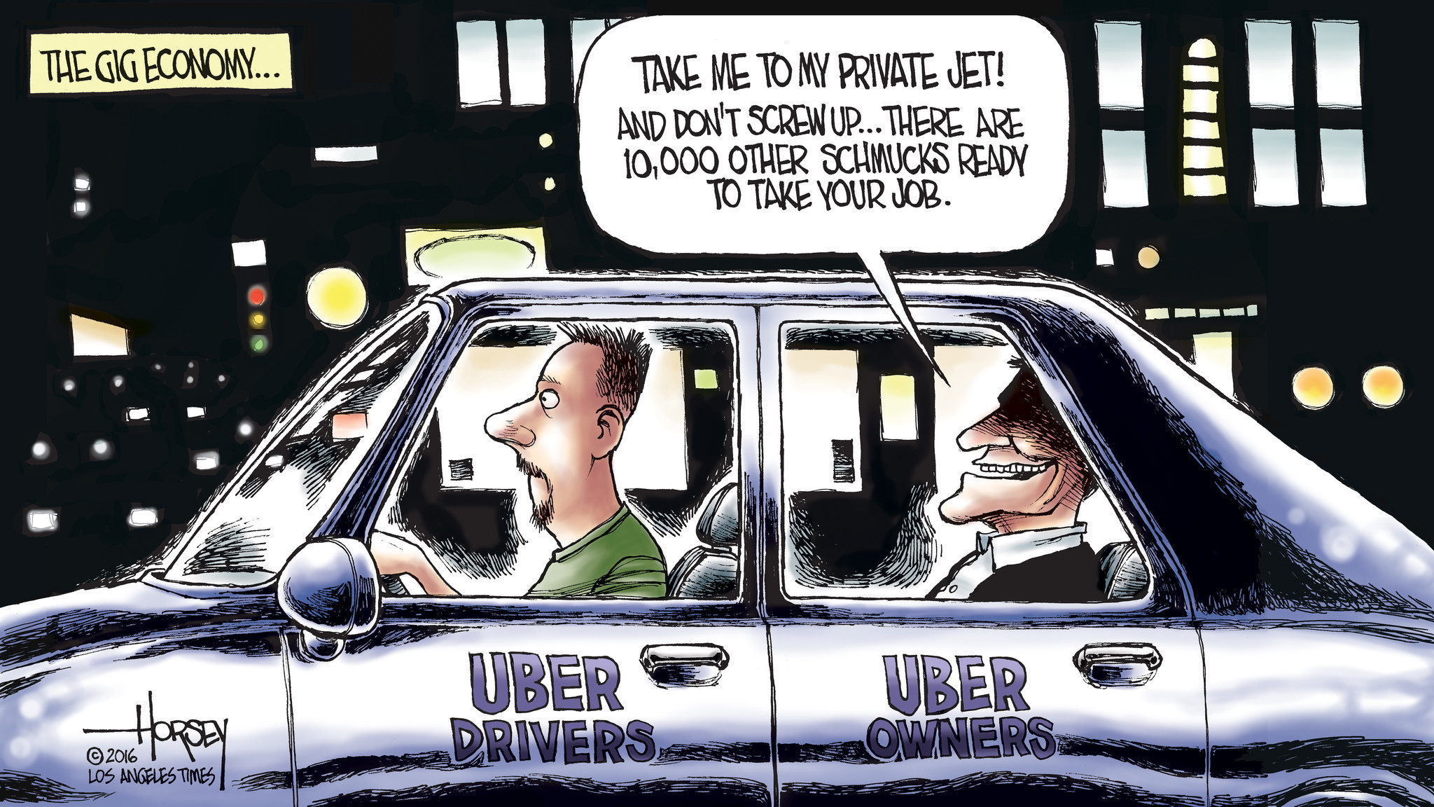 Uber Com Drive Now >> Uber drivers are sideswiped by the ruthless gig economy - LA Times