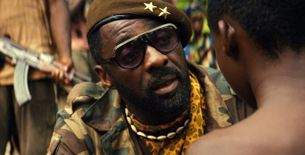 "Idris Elba appears in a scene from Netflix's 2015 drama ""Beasts of No Nation,"" directed by Cary Joji Fukunaga. (Associated Press)"