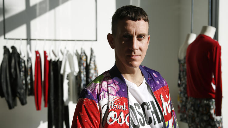 Moschino creative director Jeremy Scott