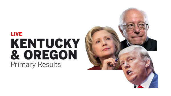 Oregon Kentucky Democratic Primary Results