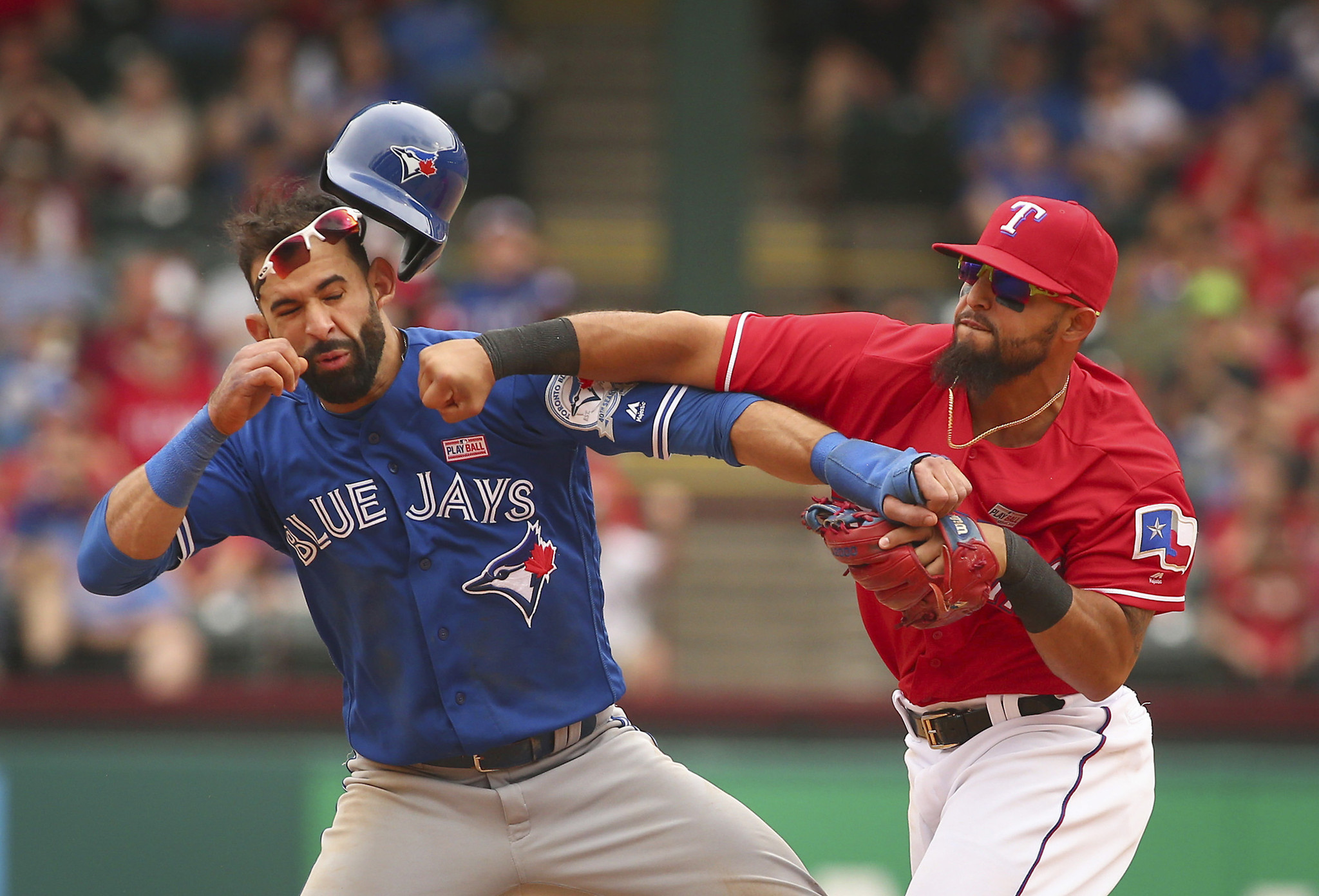 Joe Torre says discipline for those involved in Rangers-Blue Jays brawl is coming soon - LA Times