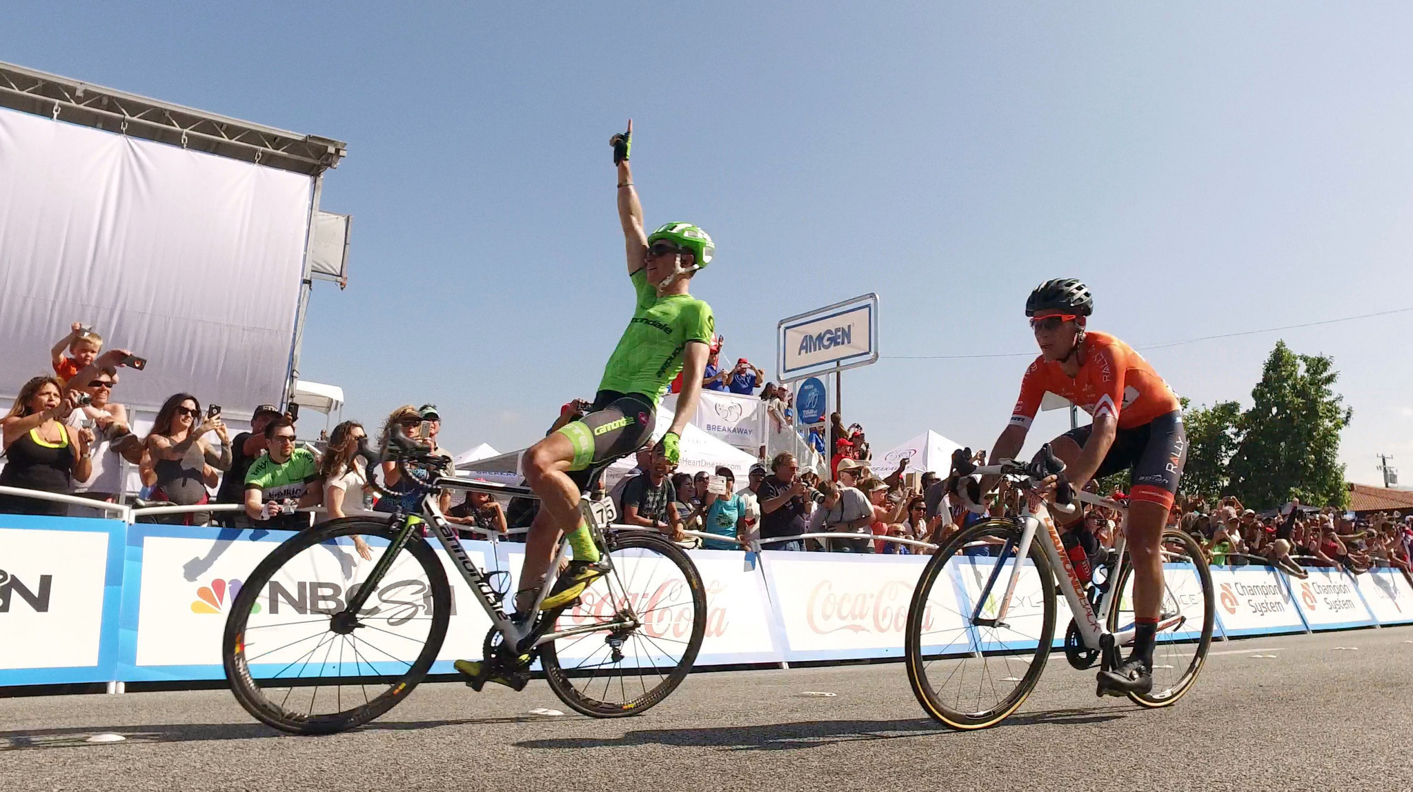 Ben King grabs the Amgen Tour of California spotlight, winning Stage 2 - LA Times