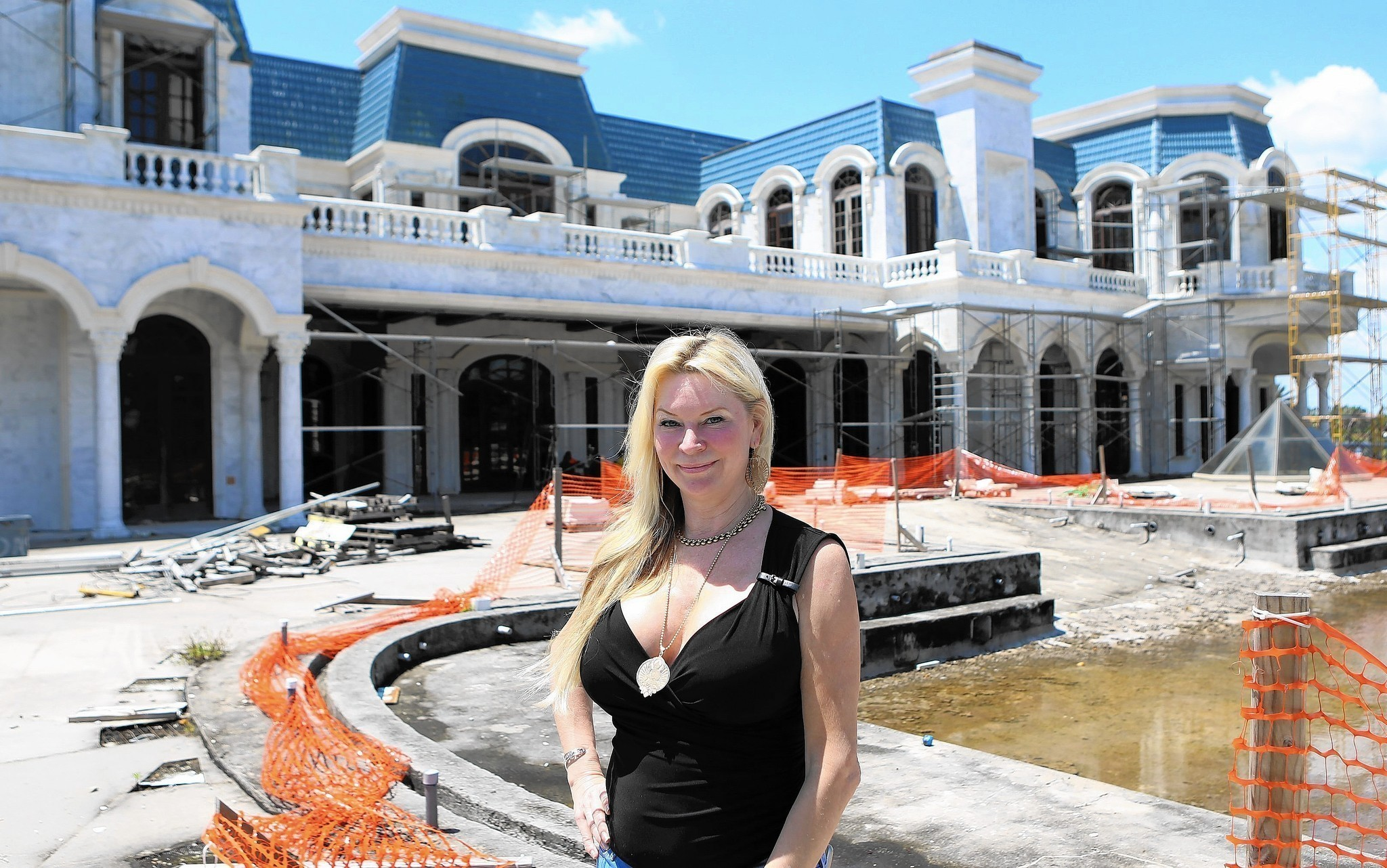 Unfinished Mansion Other Big Projects Await Long Road To Completion