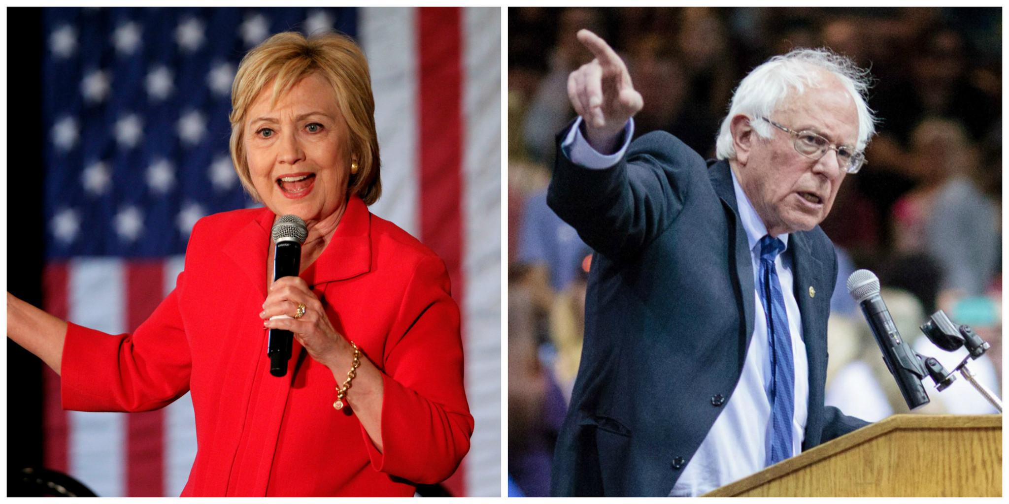 Sanders, Trump win Oregon; Clinton, Sanders in tight Kentucky race