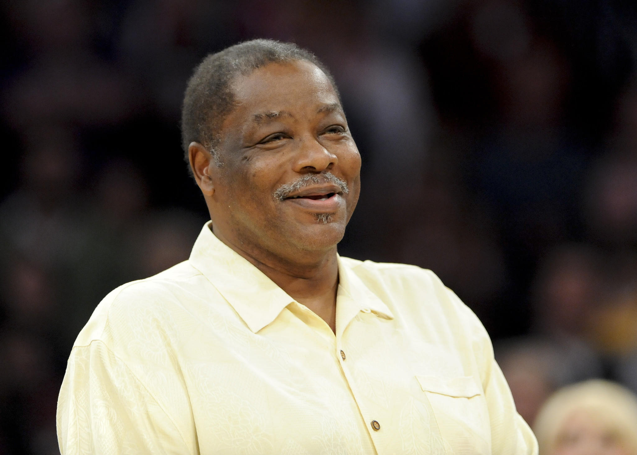 Jim McMillian former Laker on historic 1972 team s at 68 LA