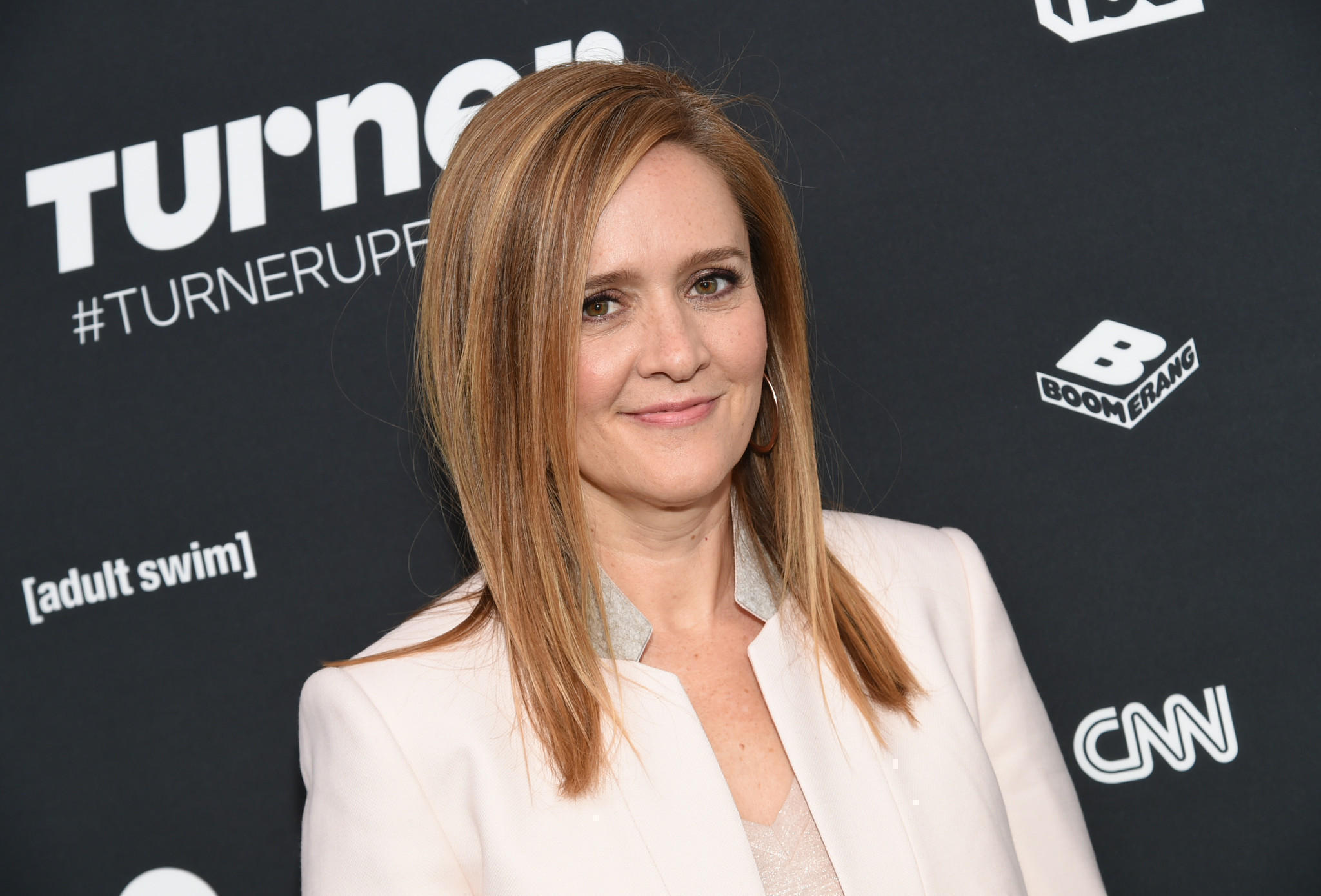 "Samantha Bee, host of ""Full Frontal With Samantha Bee,""  is hosting ""Not the White House Correspondents' Dinner"" in April. (Evan Agostini / Invision)"