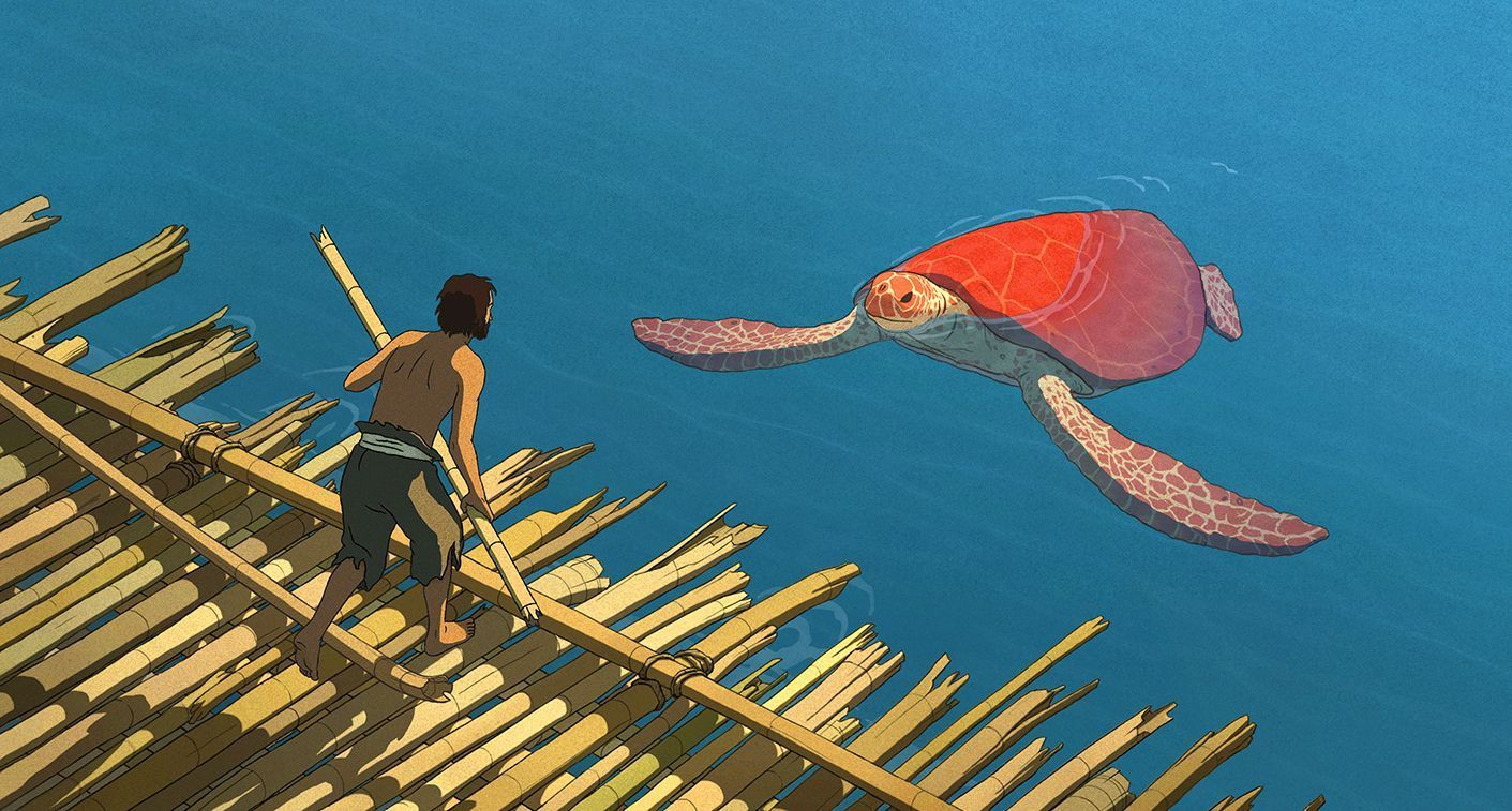 "A still from the Dutch animator Michael Dudok de Wit's film ""The Red Turtle."" (Touchwood PR)"