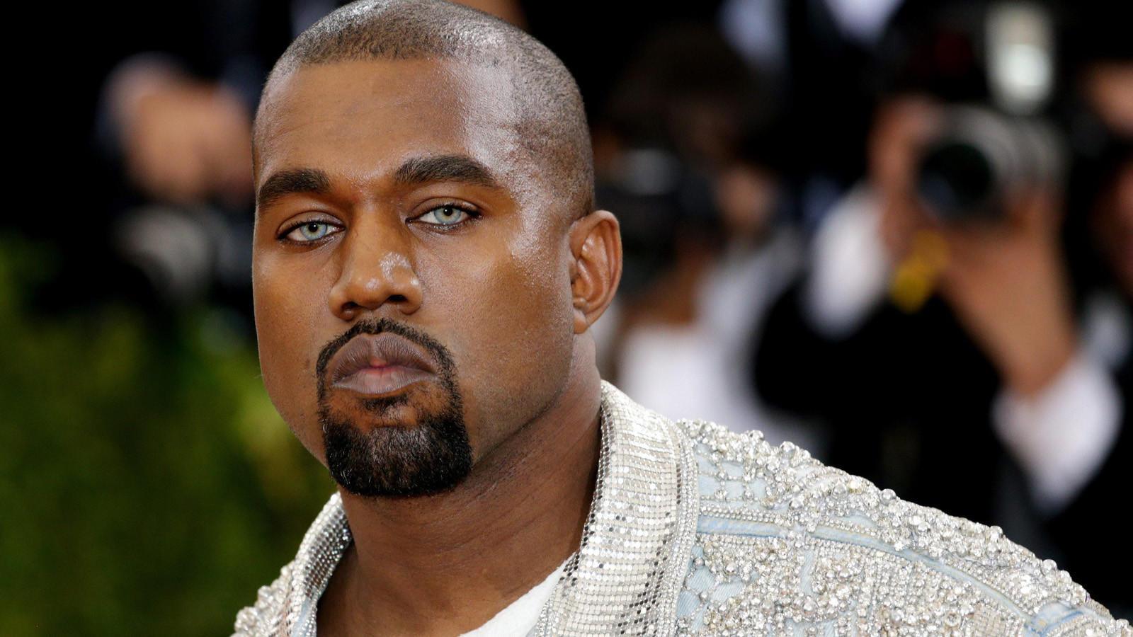Kanye West at the 2016 Met Gala. (Justin Lane / EPA)
