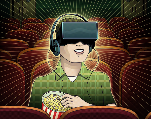 Virtual reality could change not just what we watch, but how we watch. (Peter and Maria Hoey / For The Times)
