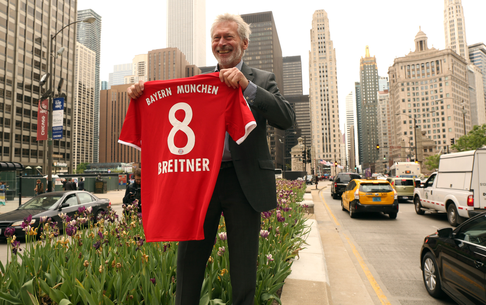 German soccer legend Paul Breitner U S has far to go to be e
