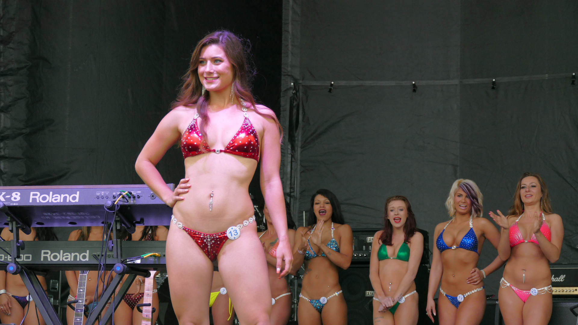2018 bikini contests