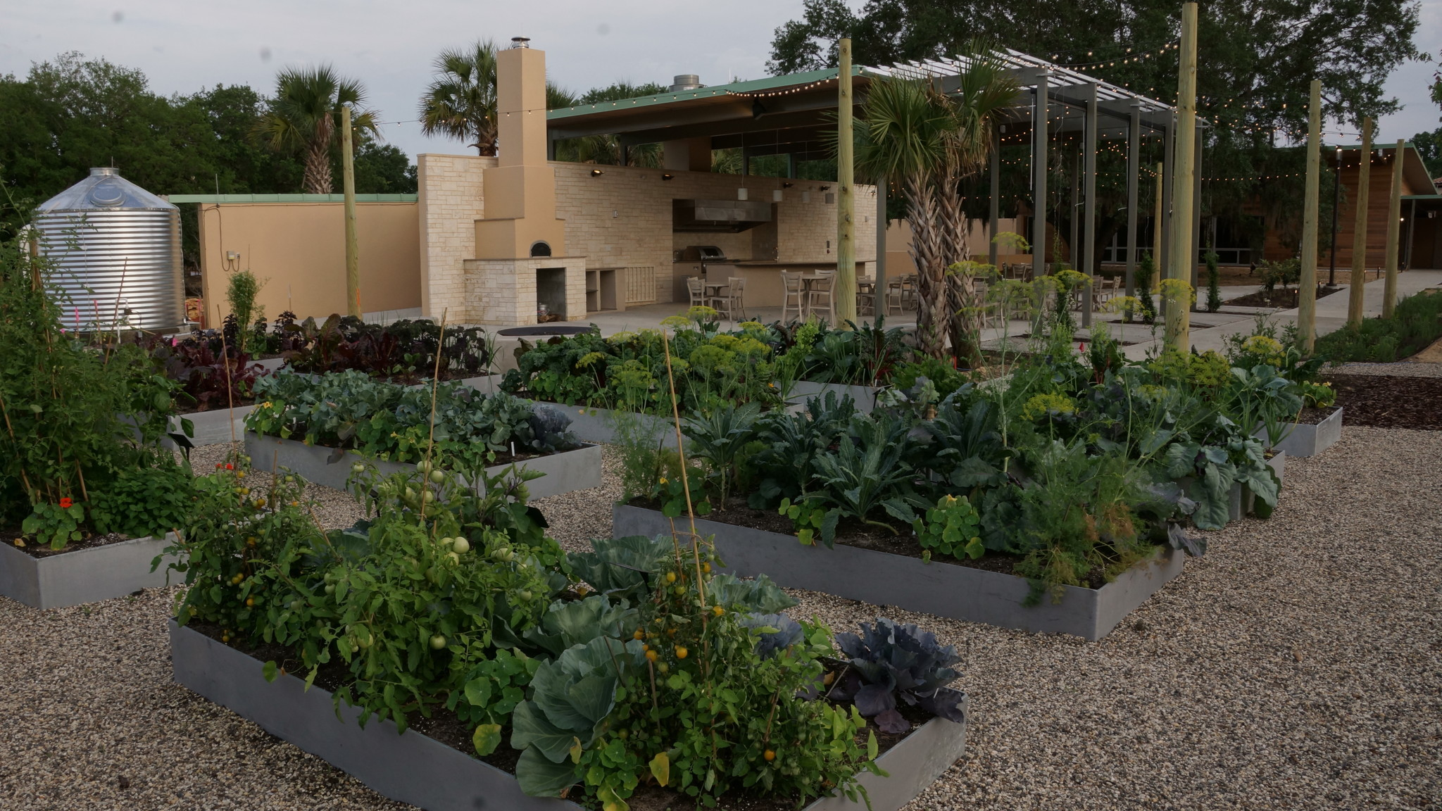 Explore Bok Towers new kitchen edible garden with cooking demo
