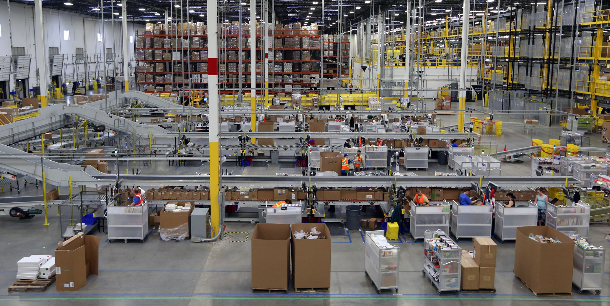 Amazons Aurora Distribution Center Deal May Be One Of The Last - Chicago map amazon