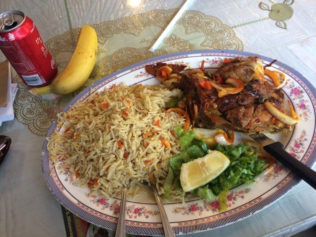 Eating Somali food? Don't forget the banana, or you might ...
