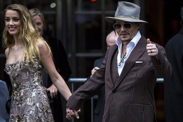 Johnny Depp's wife files for divorce after a year of marriage