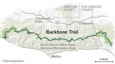 Backbone Trail maps