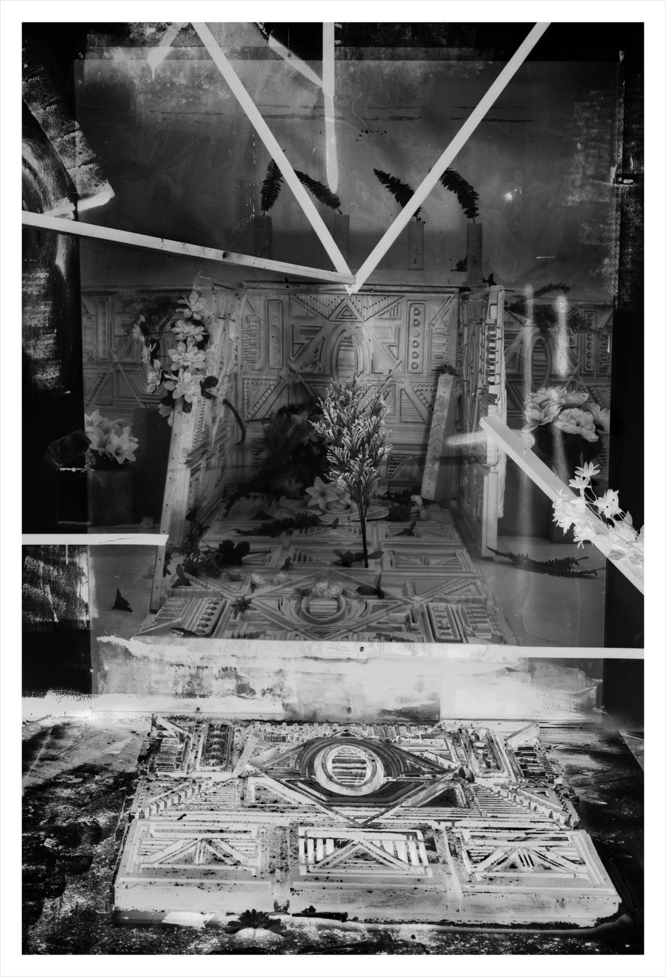 "Rodrigo Valenzuela'a ""Animita No. 2,"" 2016, archival inkjet print mounted on Dibond, 44-7/8 inches by 30-3/4 inches (framed)."