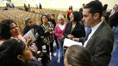 Superintendent's 'listen and learn' tour leaves LAUSD parents with questions unanswered