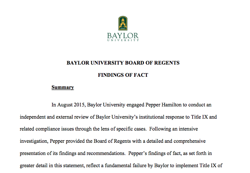 Ct-baylor-university-findings-20160526