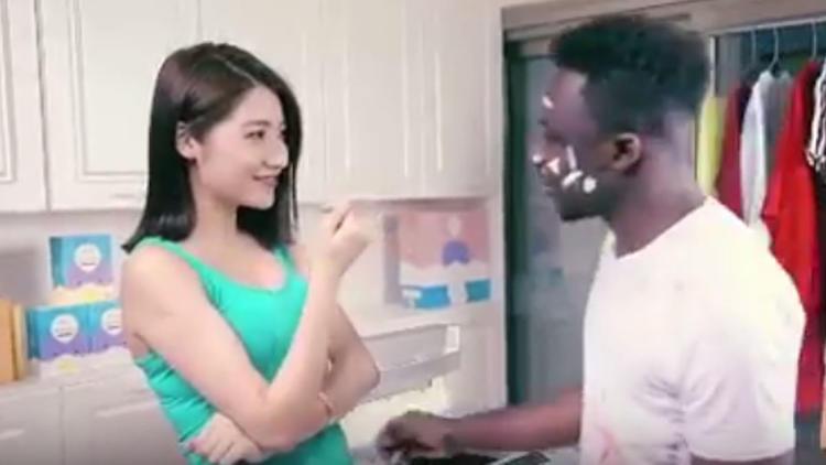 Detergent ad
