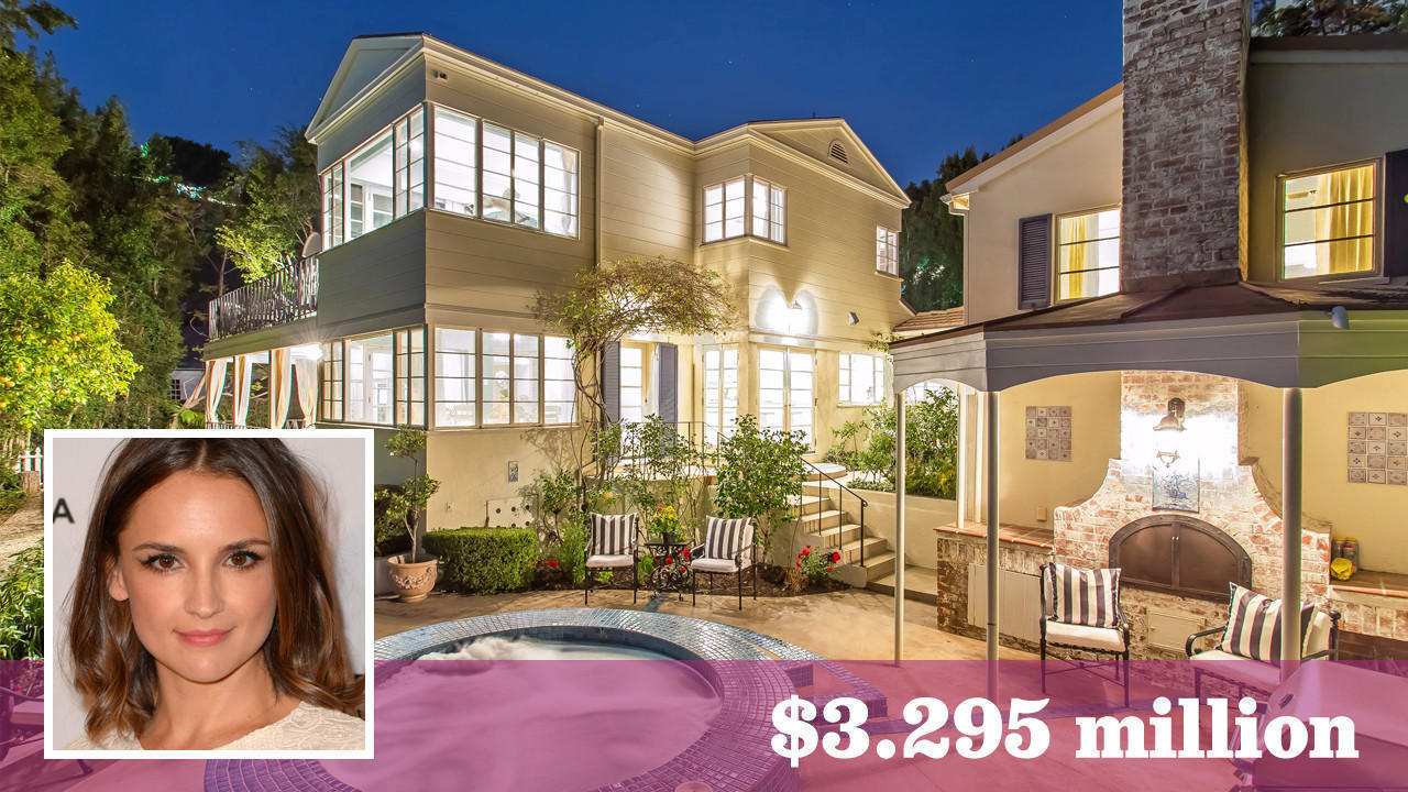 Rachael Leigh Cook Puts Her Charming Hollywood Hills West