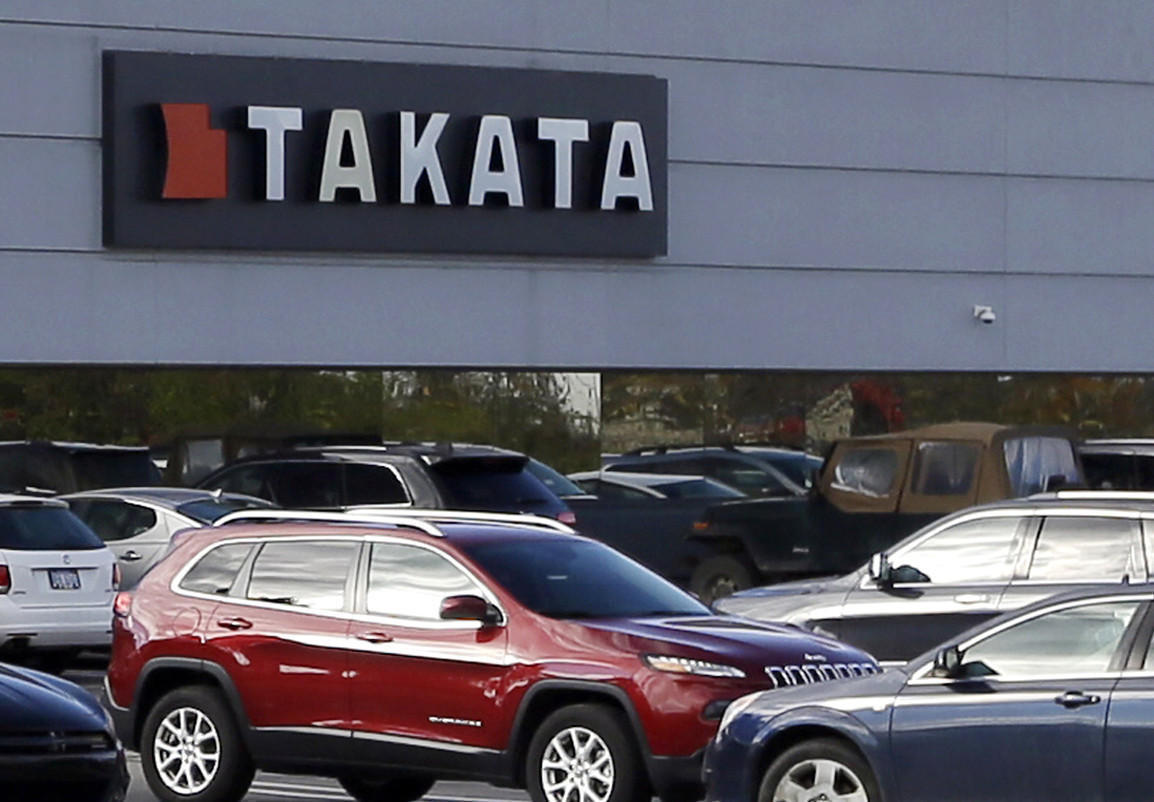 Largest ever u s auto recall gets bigger 12 million more vehicles with takata air bags ordered back la times