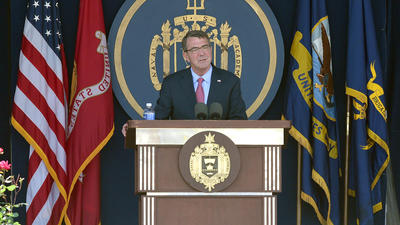 Naval Academy graduation: Defense secretary Ash Carter lays out challenges, with focus on China