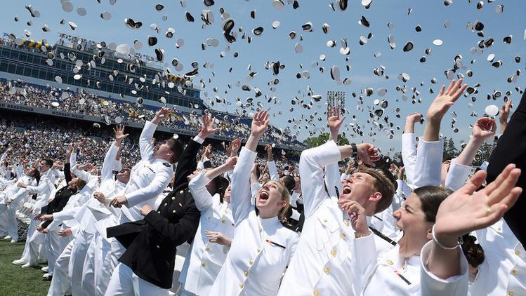 U.S. Naval Academy Graduation, Class of 2016