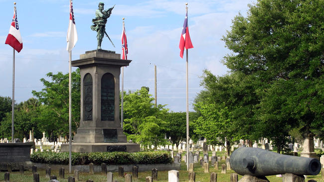 'Confederate Memorial Day' is observed in Charleston's Magnolia Cemetery