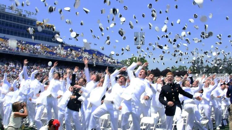 Naval Academy Class of 2016 graduates