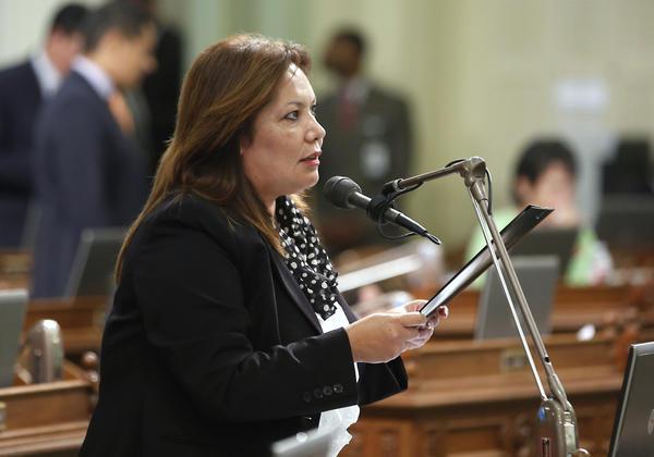 Assemblywoman Patty Lopez (Rich Pedroncelli / AP)