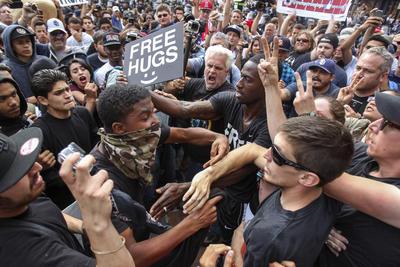 Unrest at Trump rallies