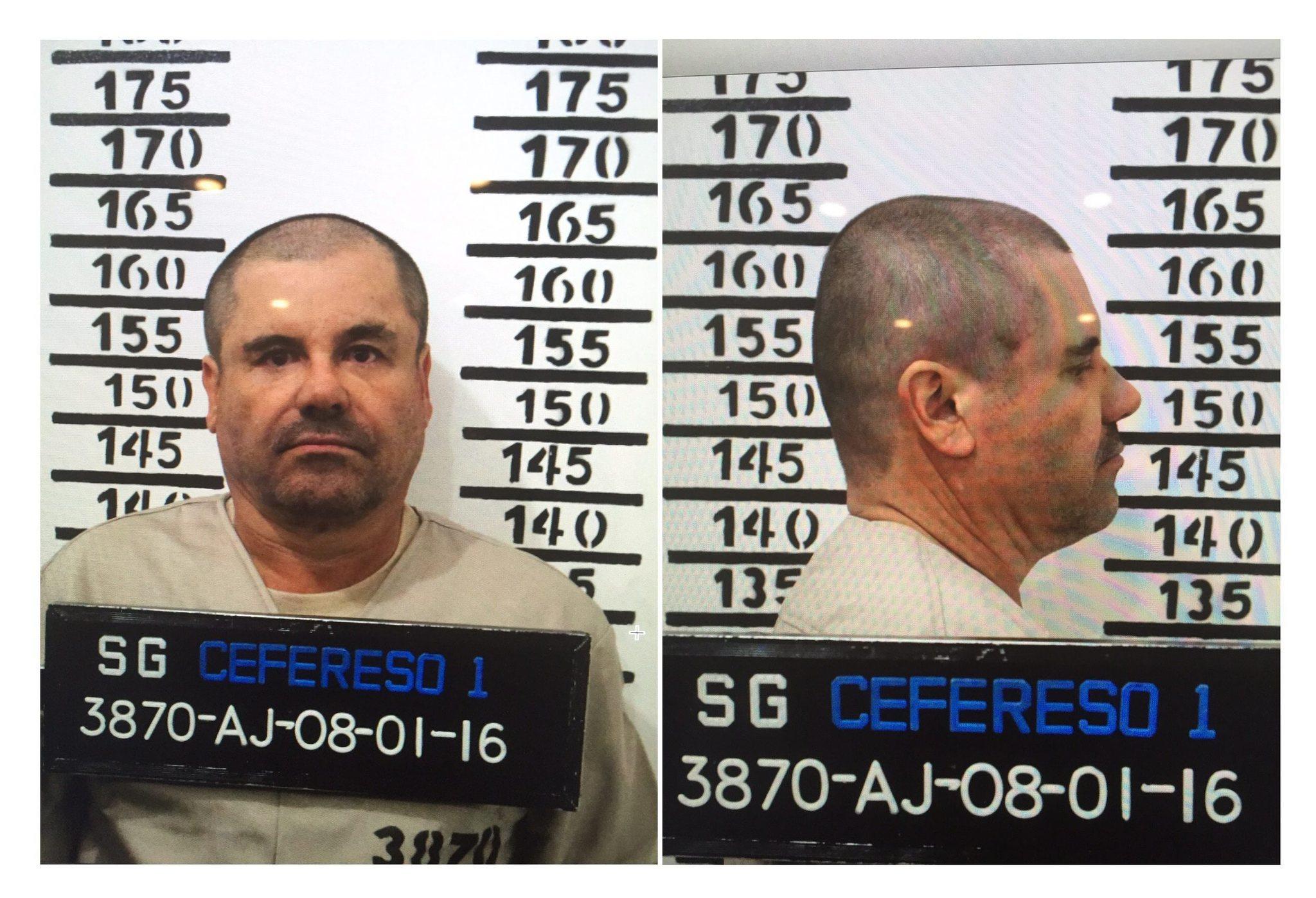 Drug lord 'El Chapo' recaptured, Mexican president says