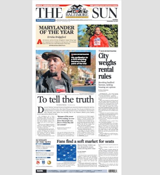 Read today's eNewspaper