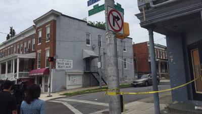 North Baltimore shooting