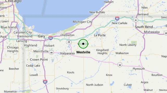 Westville Indiana Map.Rutter Who Are You Calling A Dumb Town Post Tribune