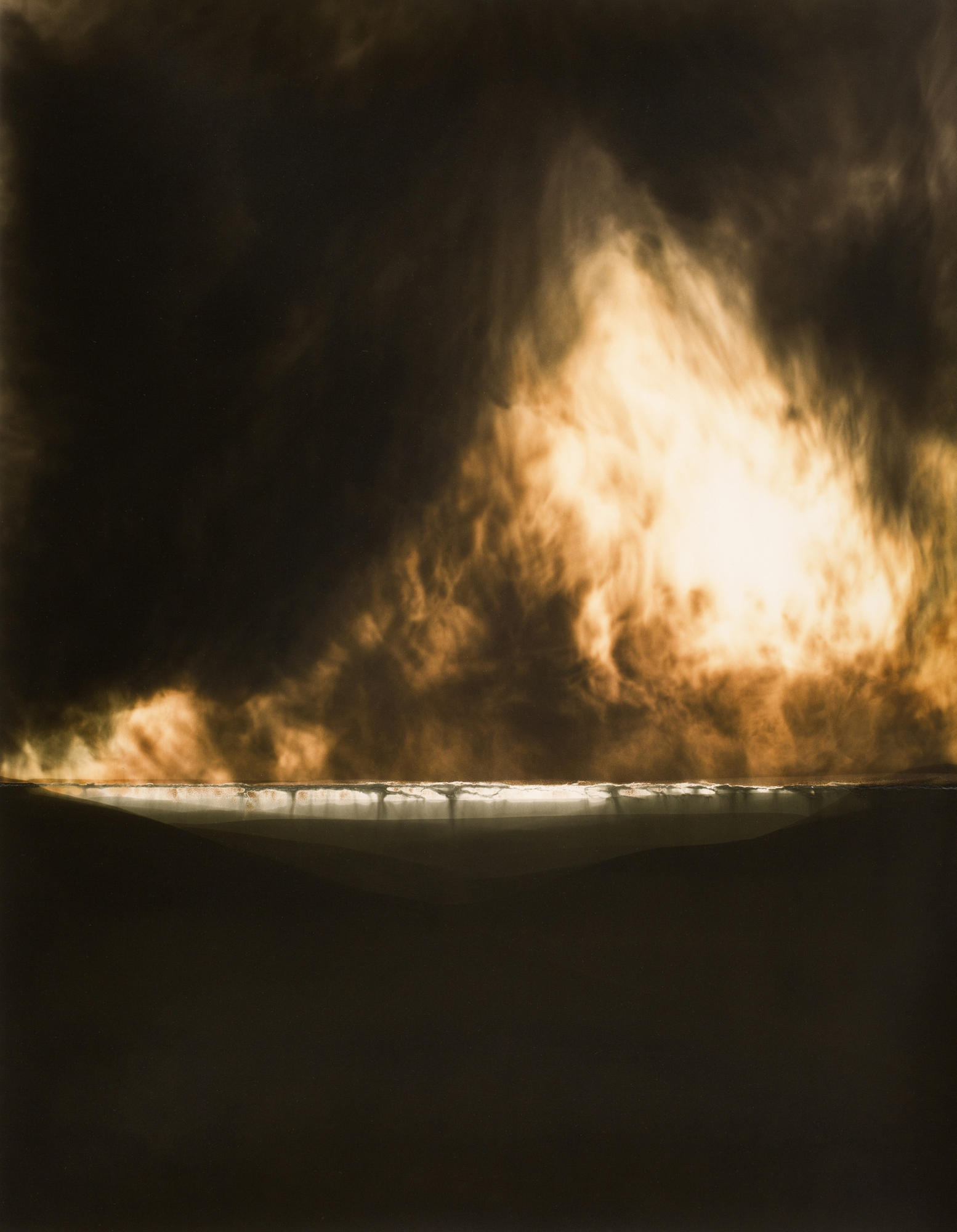 """""""A View, Not From a Window #95"""" by Chuck Kelton at Von Lintel Gallery."""