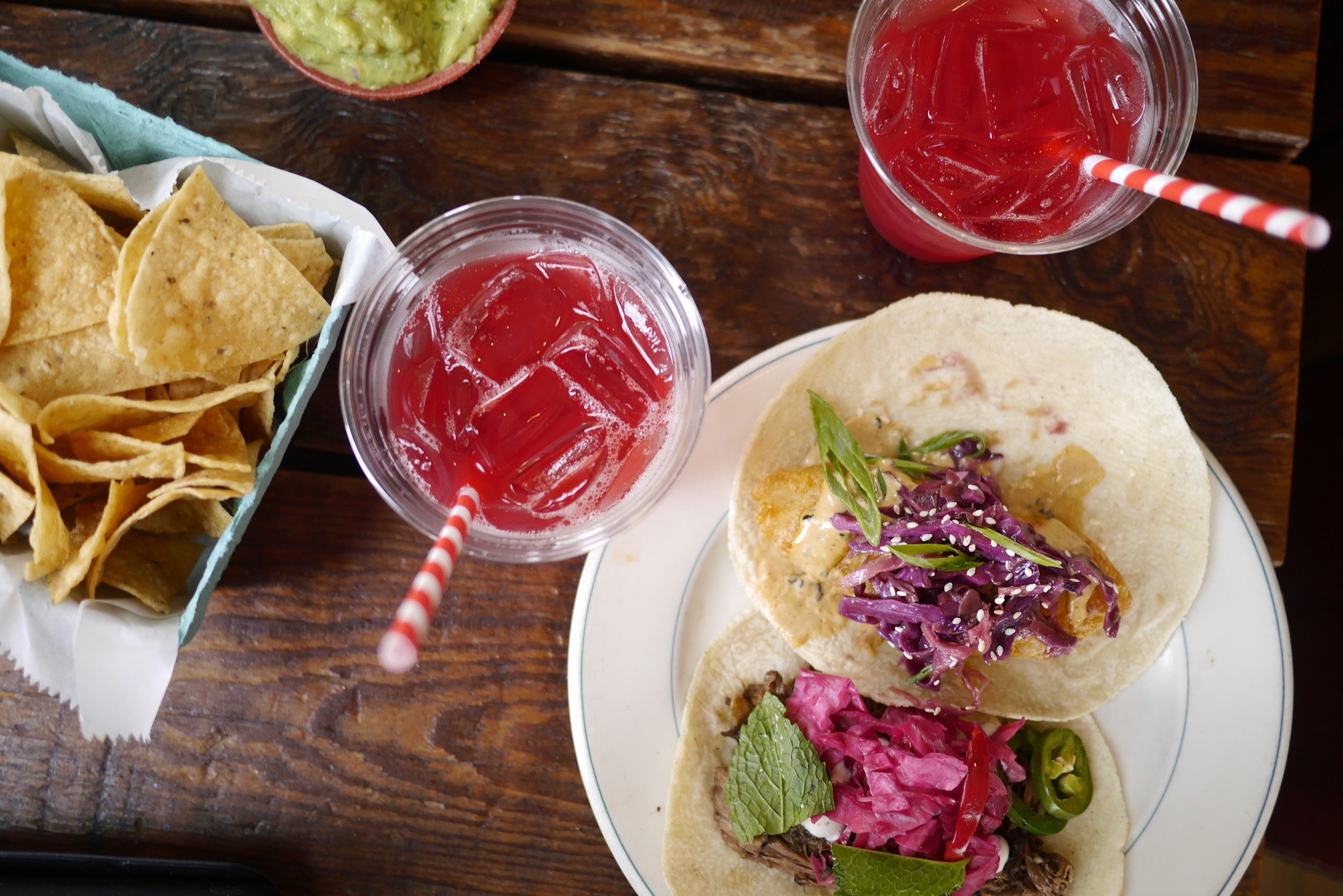 Drop the frozen margarita. There are way better drinks to pair with ...