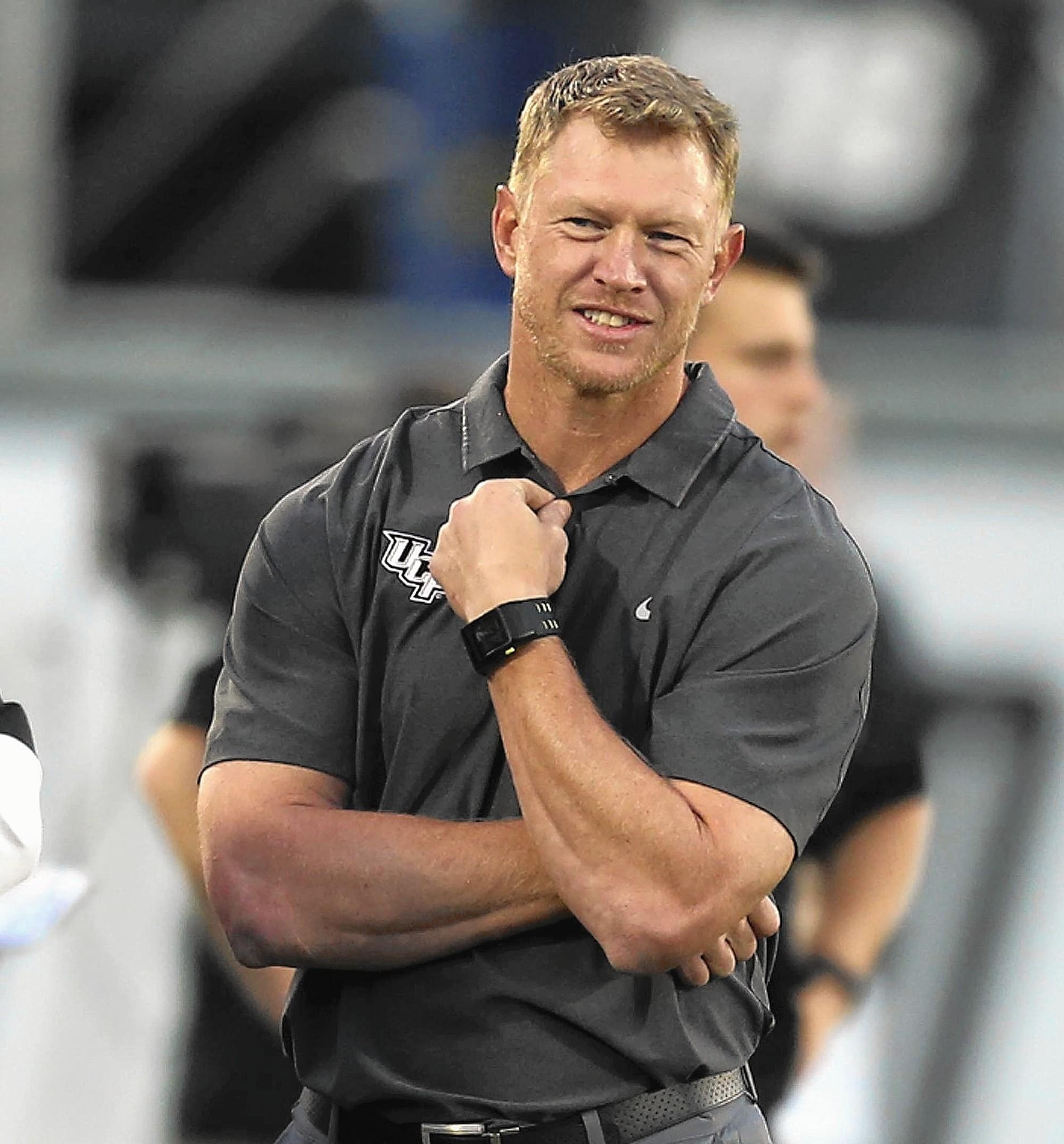 Ucf New Head Coach >> UCF coach Scott Frost wary of NCAA iPad rules - Orlando Sentinel
