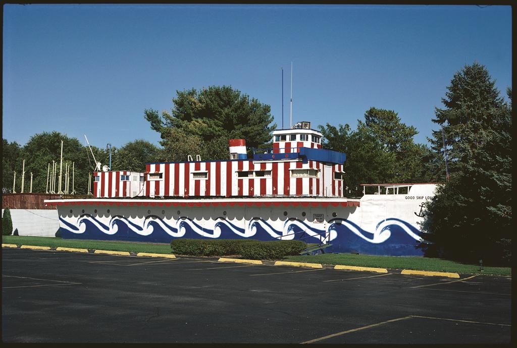 Storybook Gardens, Good Ship Lollypop, Lake Delton, Wis,, 1988.