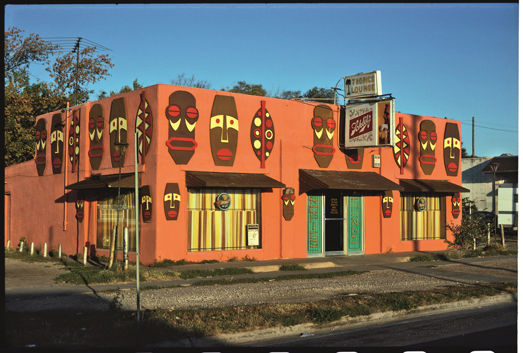 Tropics Lounge, Wichita, Kan,, 1979.