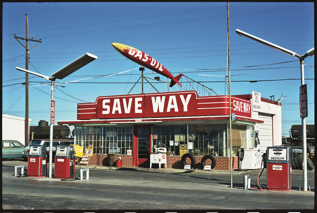 Save Way Gas, Amarillo, Texas, 1976.
