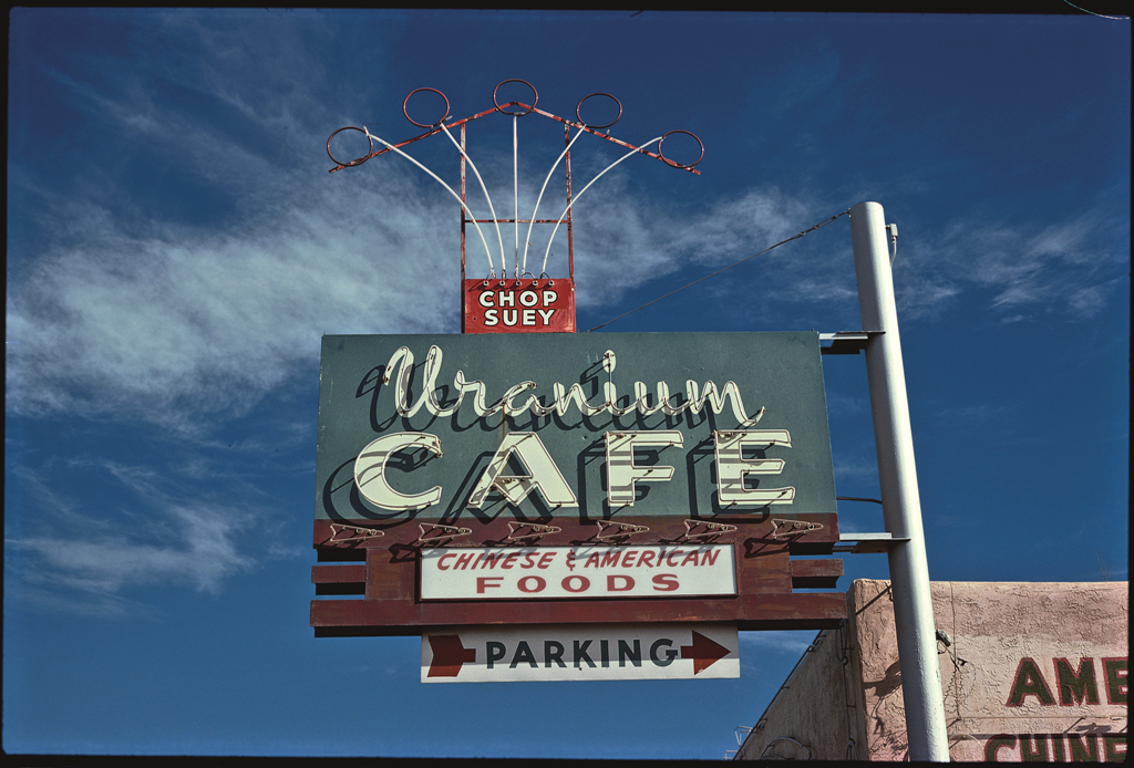Uranium Cafe, Grants, N.M., 1979.