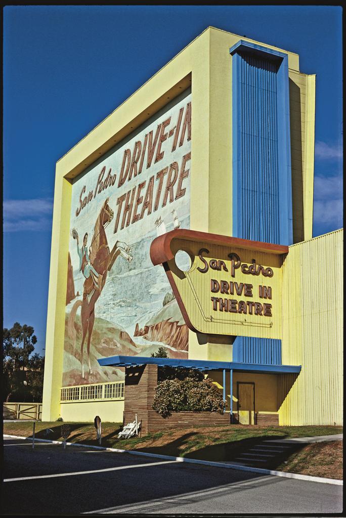 San Pedro Drive-in Theatre, San Pedro, 1979.